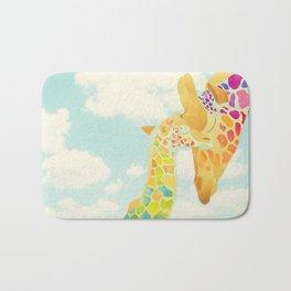 Shanti Sparrow: Harriet & Henry the Giraffes Bath Mat