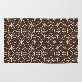 Coffee Lotus Rug