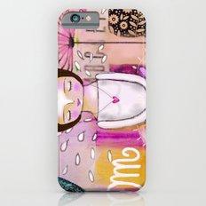 Om meditation woman Slim Case iPhone 6s