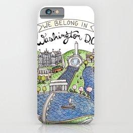 Washington DC iPhone Case