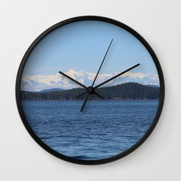 Prince William Sound Wall Clock
