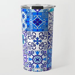 Moroccan Tile islamic pattern Travel Mug