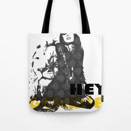 Hey Goldie Locks Tote Bag