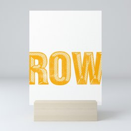 Rowing Eat Sleep Row Repeat Rower Mini Art Print