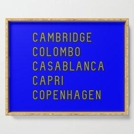Join the Journey – Copenhagen Serving Tray