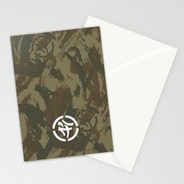 KLCTVEfusion Tiger Stripe Camo print Stationery Cards