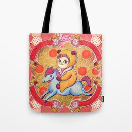 Lil Jas and Luck Tote Bag