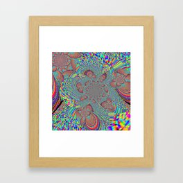 Pattern Play Framed Art Print