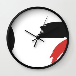 Eyes of the soul. Wall Clock