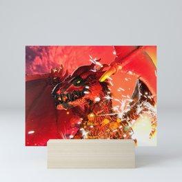 Fire Dragon Mini Art Print