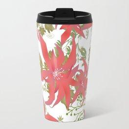Coral flowers 70 Travel Mug