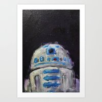 r2d2 Art Prints featuring r2d2 by Thad Taylor Art