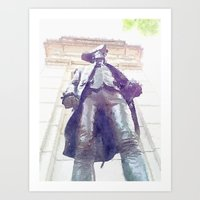 Memorial By WWII Art Print