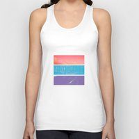 modern Tank Tops featuring Colour by POP.