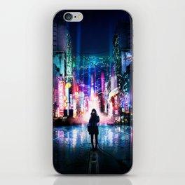 Tokyo Cyberpunk Japan iPhone Skin