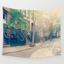 West Village Perry Street New York City Wall Tapestry
