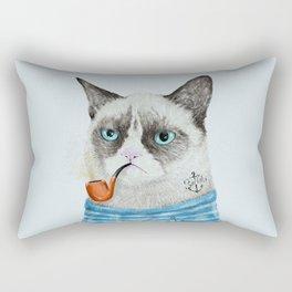 Sailor Cat I Rectangular Pillow