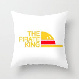 The Pirate King Throw Pillow