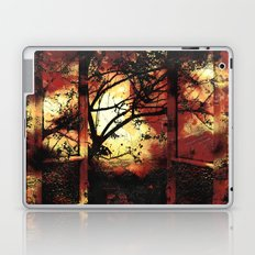 Enter the fertile garden of light and dispel the darkness of the night Laptop & iPad Skin