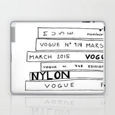 vogue forever Laptop & iPad Skin