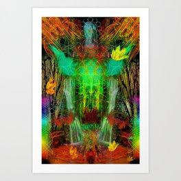 The Cooling Spirit of Autumn Art Print