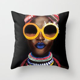 'Black Gold' Throw Pillow