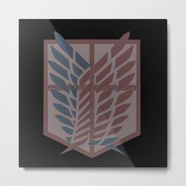 Attack On Titan Icon Metal Print