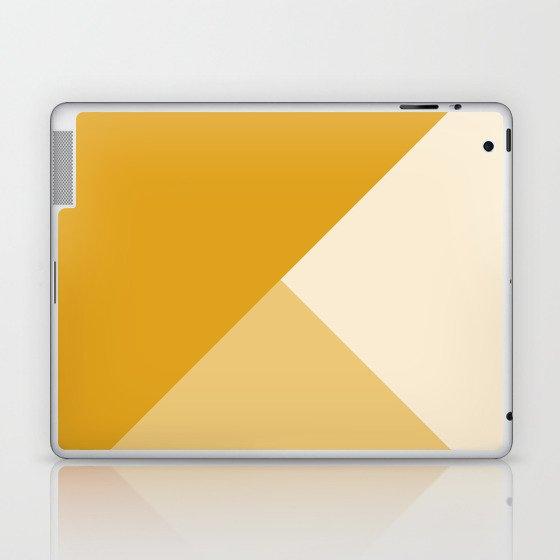 Mustard Tones Laptop & iPad Skin