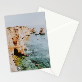summer coast viii / lagos, portugal Stationery Cards