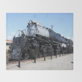Union Pacific Big Boy Throw Blanket