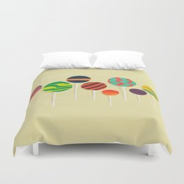 Sweet lollipop Duvet Cover