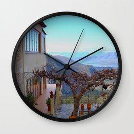 Delphi Valley, Greece  Wall Clock