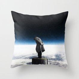 I alone ... Throw Pillow