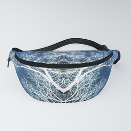 Silhouetted tree pattern Fanny Pack