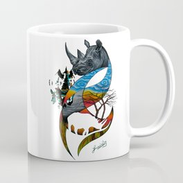 Black Rhino Coffee Mug