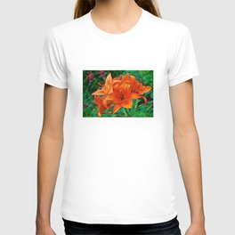 Orange Tiger Lilies - The Peace Collection T-shirt