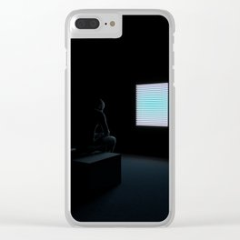 Autophobia - Nowhere to go Clear iPhone Case