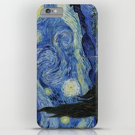 Starry Night by Vincent van Gogh iPhone Case