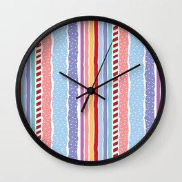 Candy madness Wall Clock