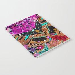 Neon Butterflies Notebook