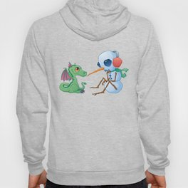 Snowman and Dragon Hoody