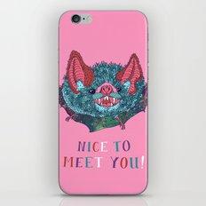 Nice to Meet You! iPhone Skin