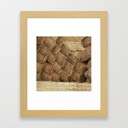 Stacked Framed Art Print