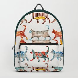 Cat Collection: Watercolor Backpack