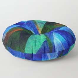 Geometric Design ############## Floor Pillow