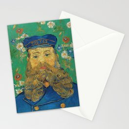 Vincent Van Gogh - Portrait of the Postman Joseph Roulin Stationery Cards