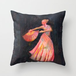 A espanhola Throw Pillow