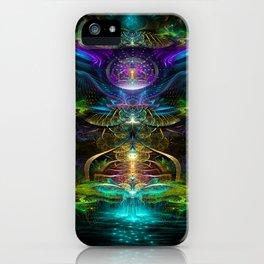 Neons - Fractal - Visionary - Manafold Art iPhone Case