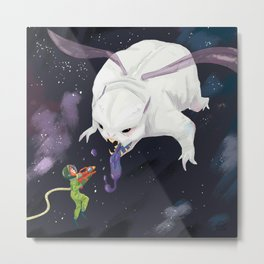 Space wars Metal Print