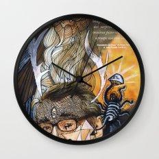 Psychoactive Bear 1 Wall Clock